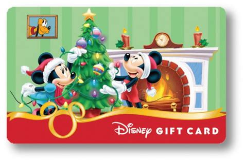 Can Disney Gift Cards Be Used At Disney World - new disney holiday gift cards now available