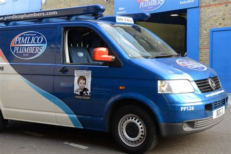 Pimlico Kid pimlico plumbers is fundraising for solving cancer