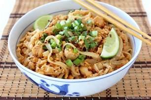 chicken pad thai recipe dishmaps
