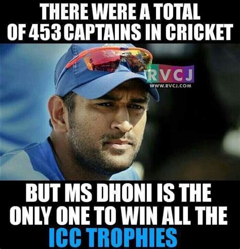 Ms Memes - congratulations to ms dhoni on all his achievements as