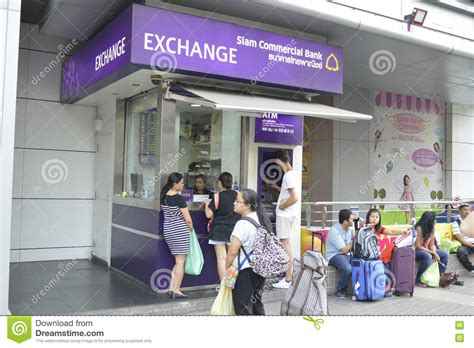 siam commercial bank exchange the siam commercial bank money exchange in bangkok