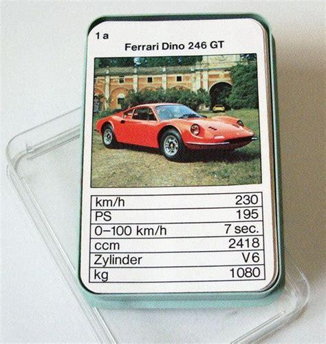 80er Auto Kaufen by Vintage Kartenspiele Auto Quartett Rarit 228 T 70er