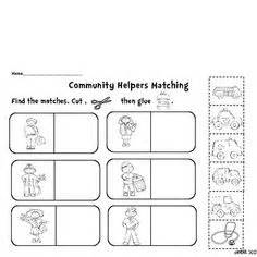 results for community helpers worksheet guest the