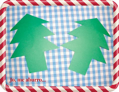 193 rbol de navidad con cartulina paperblog