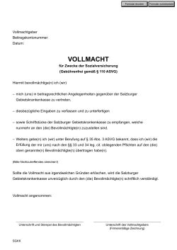 Erding Kfz Zulassung by Vollmacht Zur Vorlage Bei Der Kfz