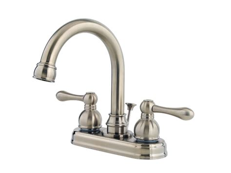 Pp Faucet by Pfister Wayland Centerset Bath Faucet Brushed Nickel