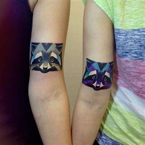 geometric tattoo couple 32 matching tattoo designs for couples