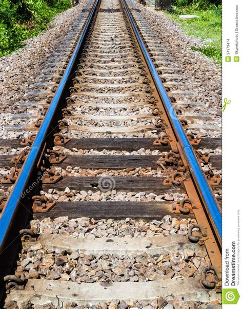 Sleepers Of Railway Track by Railway Track Stock Images Image 34973474