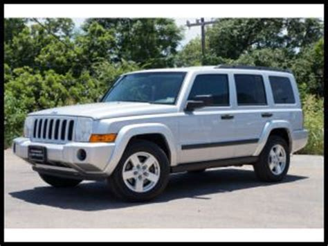 2006 Jeep Commander 2wd Sell Used 2006 Jeep Commander 4dr 2wd In San Antonio