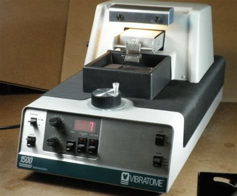 vibratome sectioning used vibratome 1500 tissue sectioning system microtome for