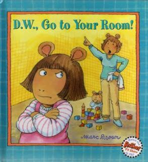 go to your room dw purple eater d w go to your room by marc brown
