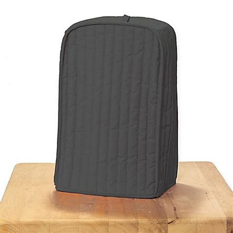 ritz quilted natural ivory appliance cover buy ritz 174 quilted mixer coffee maker cover in graphite