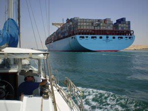 a boat operating in a narrow channel commercial shipping and you boatus foundation