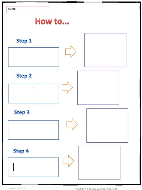 graphic organiser templates quot how to quot common graphic organizer informative writing