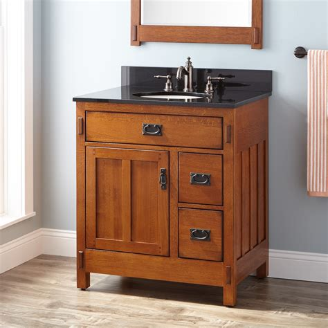 30 bathroom vanity cabinet 30 quot american craftsman vanity for undermount sink rustic