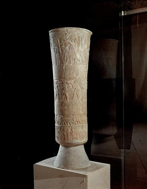 Warka Vase History by Front