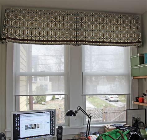 Modern window treatments valance kitchen luxurious contemporary