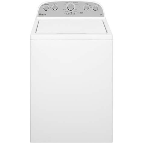 Top Loading Clothes Dryers Whirlpool Wtw4915ew 3 6 Cuft Top Load Washer With 7 0 Cuft