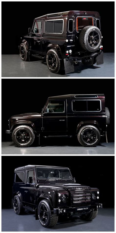 range rover truck black defender 90 land rover defender and land rovers on pinterest