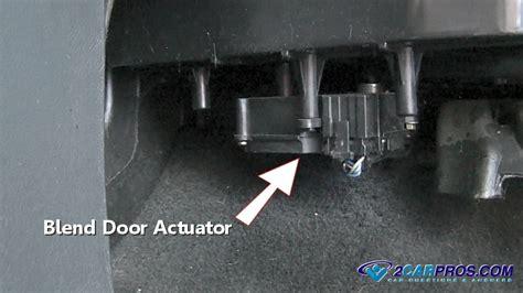 chevy cobalt floor duct how to replace a blend door actuator in 15 minutes
