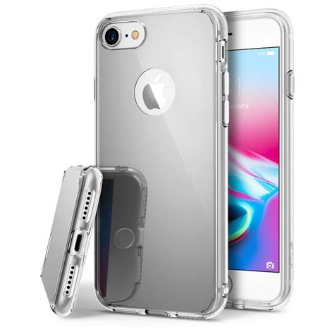ringke mirror for iphone 7 silver iphone 8 7 ringke 174 mirror