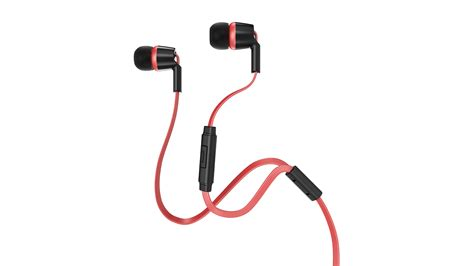 red and black ls sentey nexus black red earbuds ls 4247