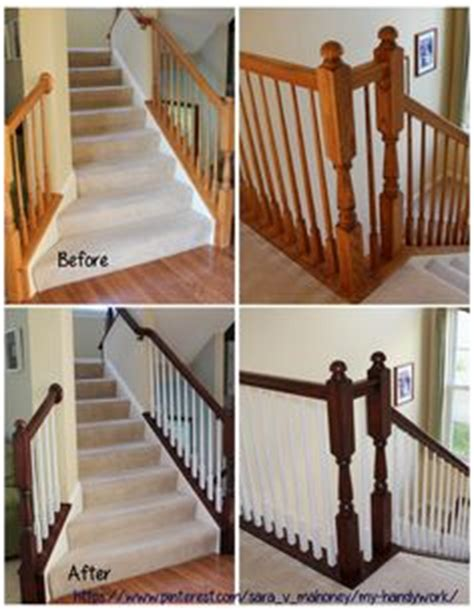 how to gel stain oak banisters without sanding