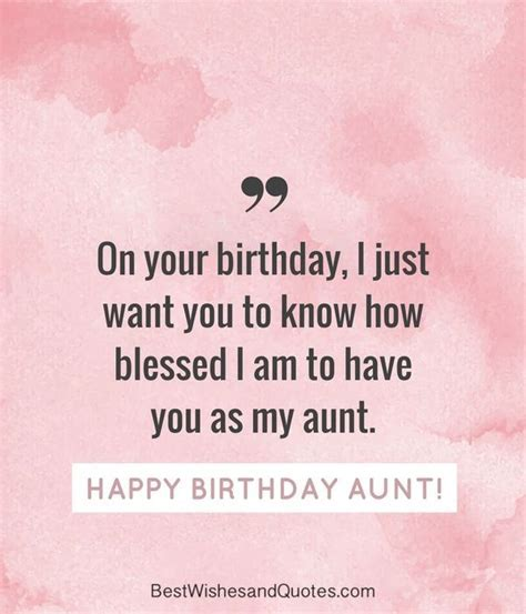 Happy Birthday Aunt   35 Lovely Birthday Wishes that You