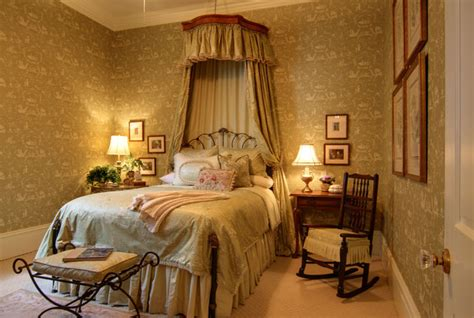 thibaut designs toile on toile guest bedroom traditional