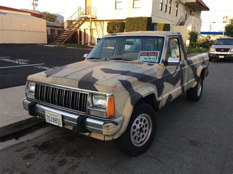 1989 Jeep Transfer 1989 Jeep Comanche Na Prodej