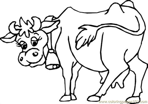 coloring page cow head free coloring pages of cow head