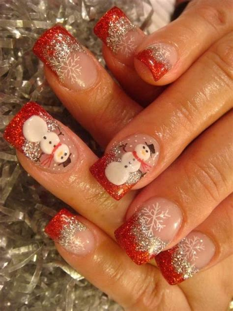 easy nail art for christmas best easy simple christmas nail art designs ideas