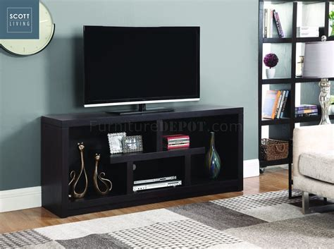 macy  scott living coaster walnut tv stand