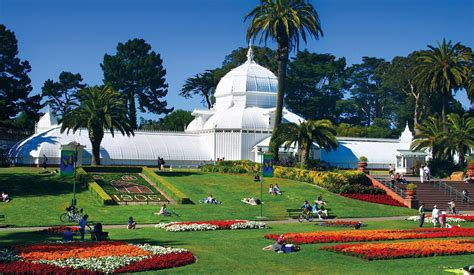 golden gate park flower garden golden gate park bay city guide san francisco visitors
