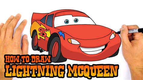 How to Draw Lightning McQueen Cars 3 YouTube