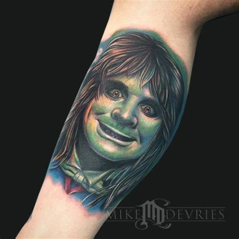 ozzy osbourne tattoos ozzy osbourne by mike devries tattoos