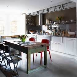 industrial kitchen table furniture 59 cool industrial kitchen designs that inspire digsdigs