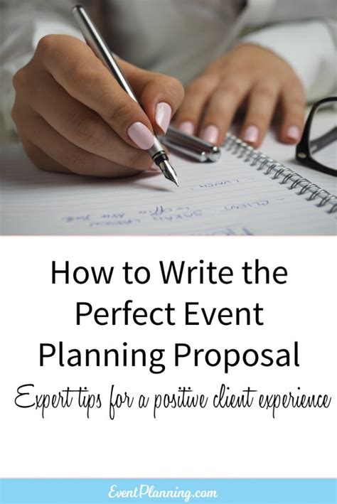 how to write an event planning eventplanning
