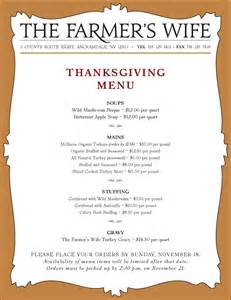 thanksgiving dinner list of items thanksgiving dinner menu images amp pictures becuo