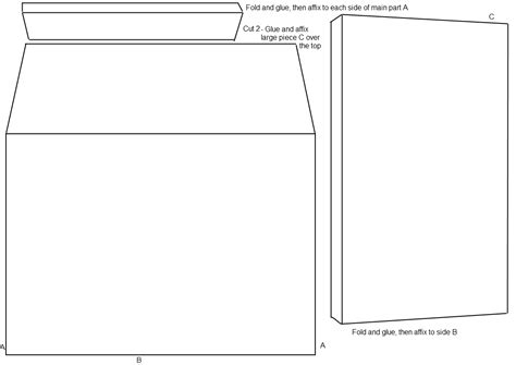 template for 5 by 7 envelope with measurements search