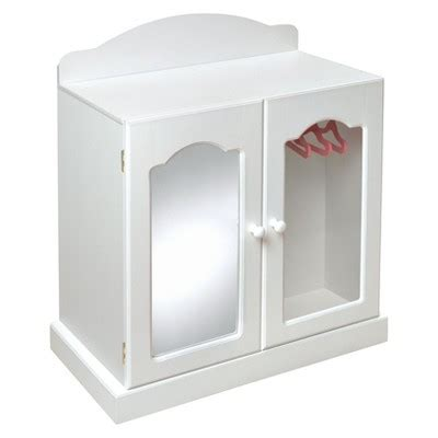 american girl armoire target badger basket mirrored doll armoire with baskets target