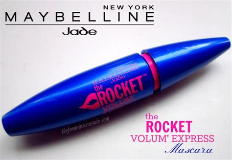 Maybelline Rocket Volum Express the feminine crusade makeup reviews