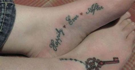 happily ever after tattoo happily after tattoos his and hers tattoos