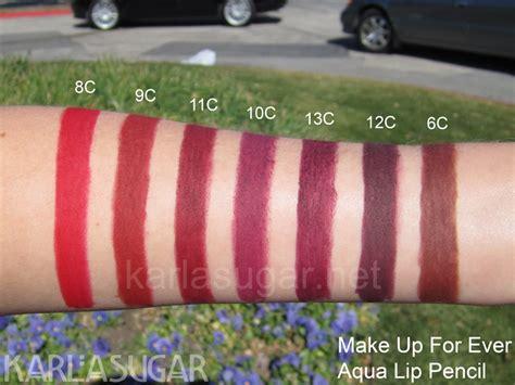 Lip Liner Make Up Forever makeup forever aqua lip liner swatches vizitmir