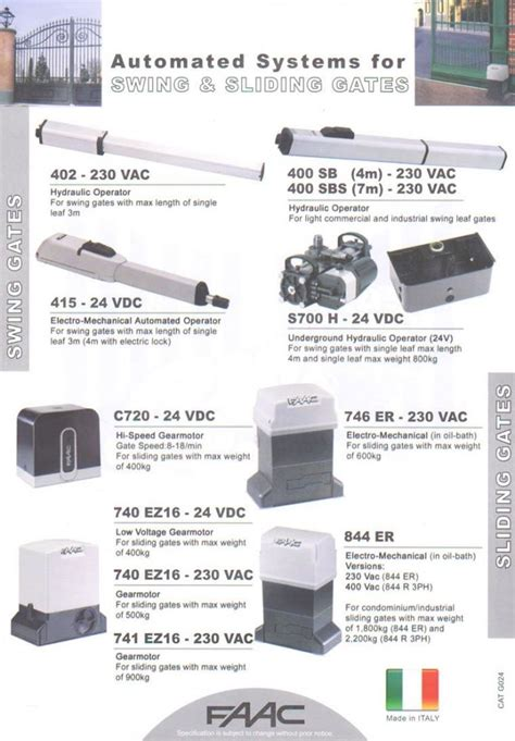 Alarm Mobil Beltech faac swing and sliding motor faac automatic gate and barrier system singapore supplier supply