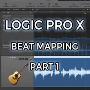 video tutorial logic pro x logic pro x beat mapping part 1 video tutorial