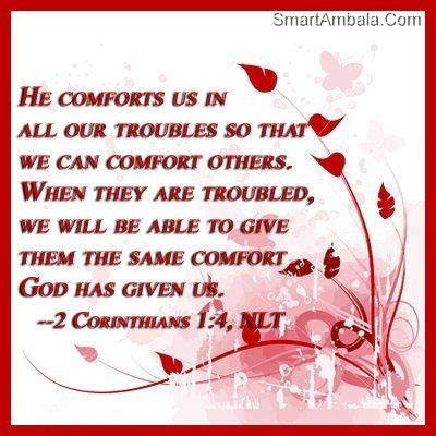 bible verses to give comfort comfort from god quotes quotesgram