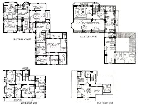 Bungalow Floor Plans file haus muthesius grundrisse jpg wikimedia commons