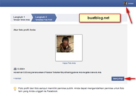 cara membuat facebook foto sul cara mudah membuat akun facebook fb baru dengan cepat