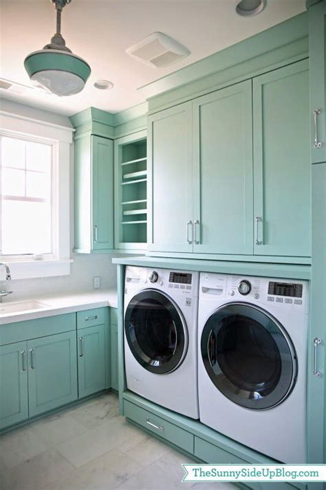 laundry room awesome blue green paint colour in these cabinets laundry room